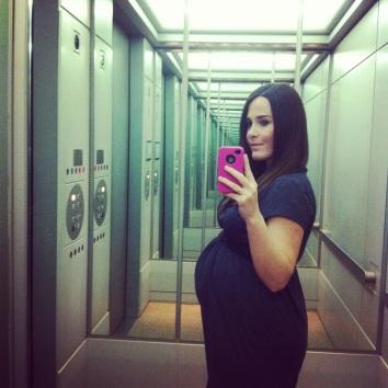 me at 38 weeks