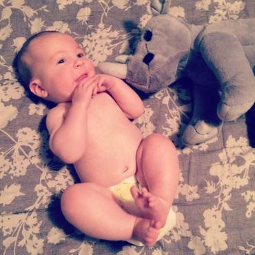 Oliver at 5 months old